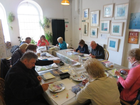 Art Classes at the Oak Room