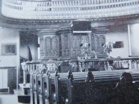The Oak Room Tiverton: originally a church built in 1831