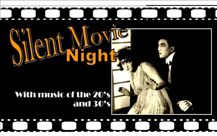 Silent Movie Night Poster