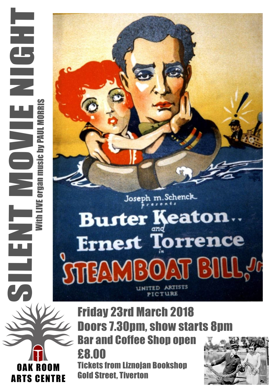 Silent Movie Steamboat Bill POSTER