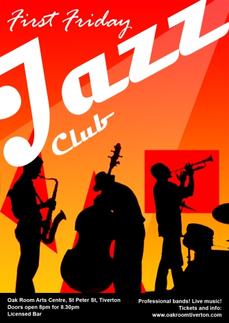 Jazz Club Flyer A6