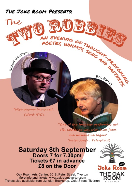 Two Robbies Poster September