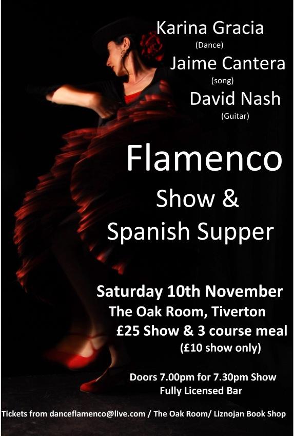 Flamenco Evening Poster